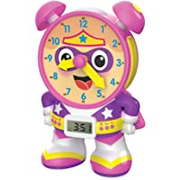 The Learning Journey - Super Telly Teaching Time Clock - Pink - Toddler Toys & Gifts for Boys & Girls Ages 3 Years and…