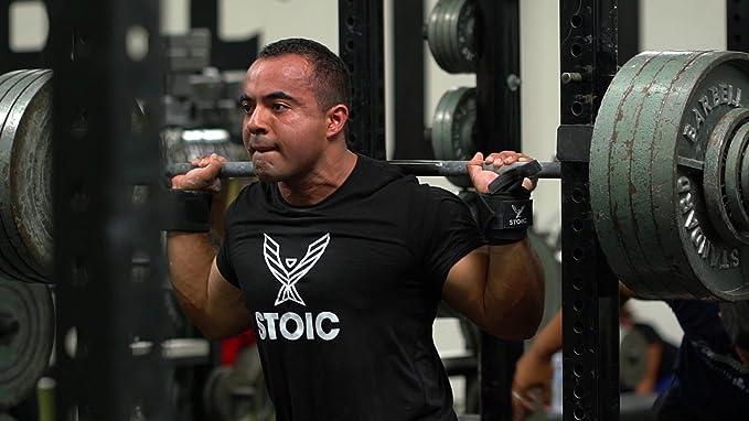 Gewichtheben,/ von stoiker Bodybuilding /Professionelle Qualit/ät /& Ultra robuste Leistung 7/mm Knie f/ür die Powerlifting Paar