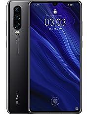 "Huawei P30 - Smartphone de 6.1"" (Kirin 980 Octa-Core de 2.6GHz, RAM de 6 GB, Memoria interna de 128 GB, cámara de 40 MP, Android) Color Negro [Versión española]"