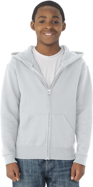 B0009VED12 Jerzees Youth Full Zip Hooded Sweatshirt 71tmEj3PP7L
