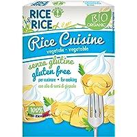Rice & Rice Salsa Crema con Arroz - 6 Paquetes de 1 x 200 ml - Total: 1200 ml