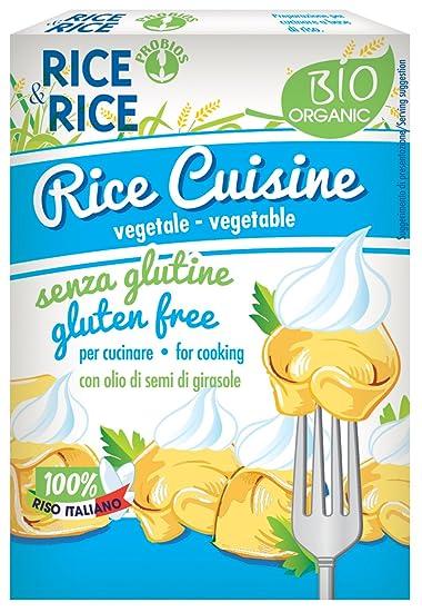 Rice & Rice Salsa Crema con Arroz - 6 Paquetes de 1 x 200 ml -