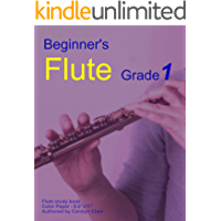 Beginner's Flute Grade 1: Play the Flute from simple melodies book cover