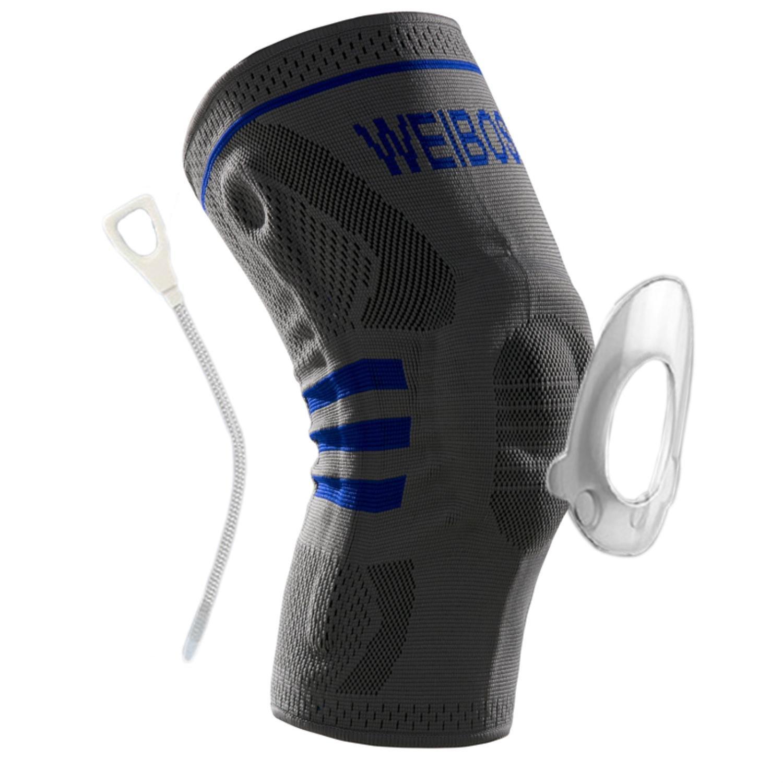 Kneepad movement breathable leg protection padded compression leg sleeve
