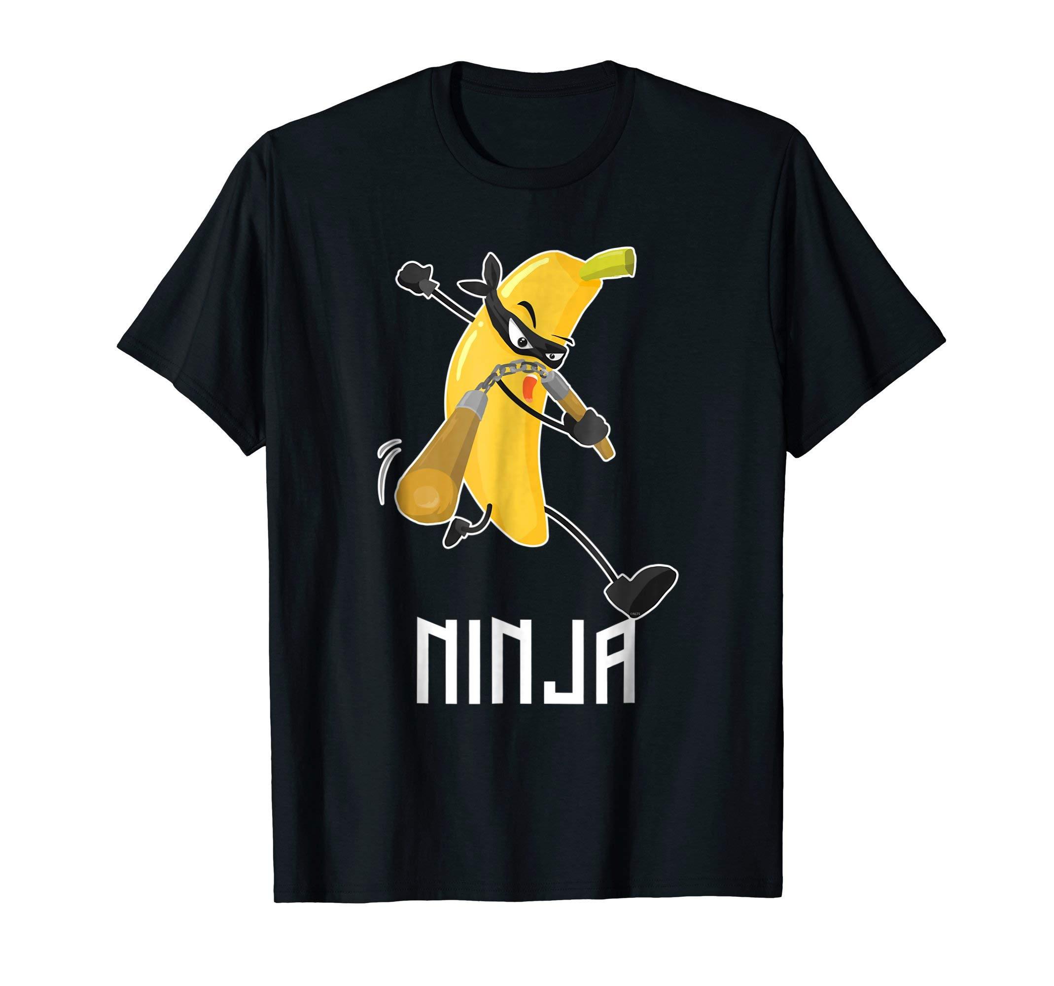 Banana-Ninja-Warrior-Attack-T-Shirt-Tee-Shirt-Gifts