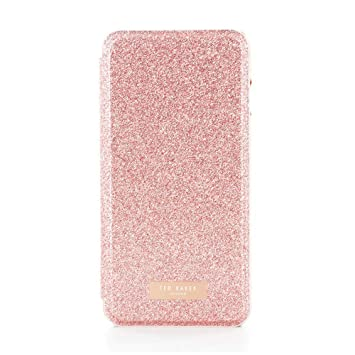 super popular 18742 956a1 Ted Baker SS17 Folio Style Case for iPhone 8 PLUS / 7 PLUS - Fashion Mirror  Case in Sprinkling of Sparkle Illuminates for Professional Women - ...