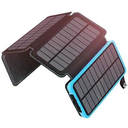 Amazon.com: ADDTOP - Cargador solar portátil de alta ...
