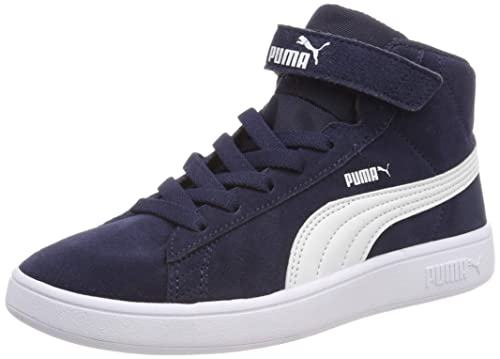 Puma Smash V2 Mid V PS, Baskets Hautes Mixte Enfant: Amazon