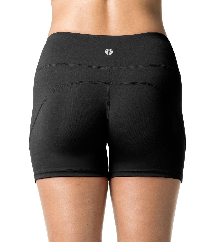 LAPASA Short Sport Femme Yoga Fitness Running Gym Élastique Stretch Gaine  Large L09 716538391d6