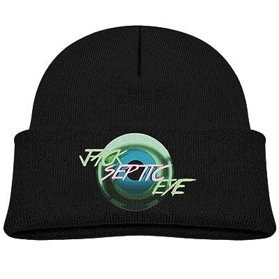 e8b21e8b396 A Winterfallpop Boys Girls Jacksepticeye Eyeball Logo Youtube Winter Beanie  Skull Hat Cap Unisex