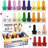 24 Nagellack Set 24 Verschiedenen Farben Perfekte Geschenk (set B)