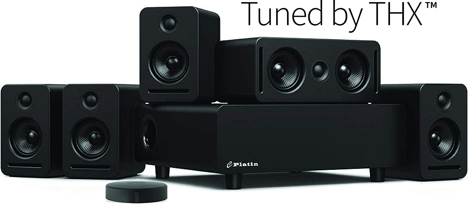 24 Bit Dolby Audio /& DTS Enclave CineHome II Wireless 5.1 Home Theater Surround Sound WiSA Certified CineHub Edition Bundle