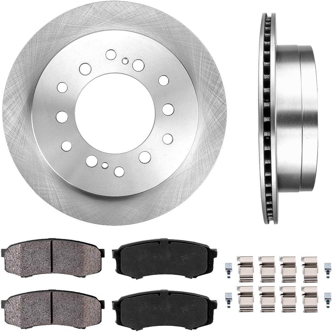 Front Rotors w//Metallic Pad OE Brakes 2003-2009 GS470 4Runner