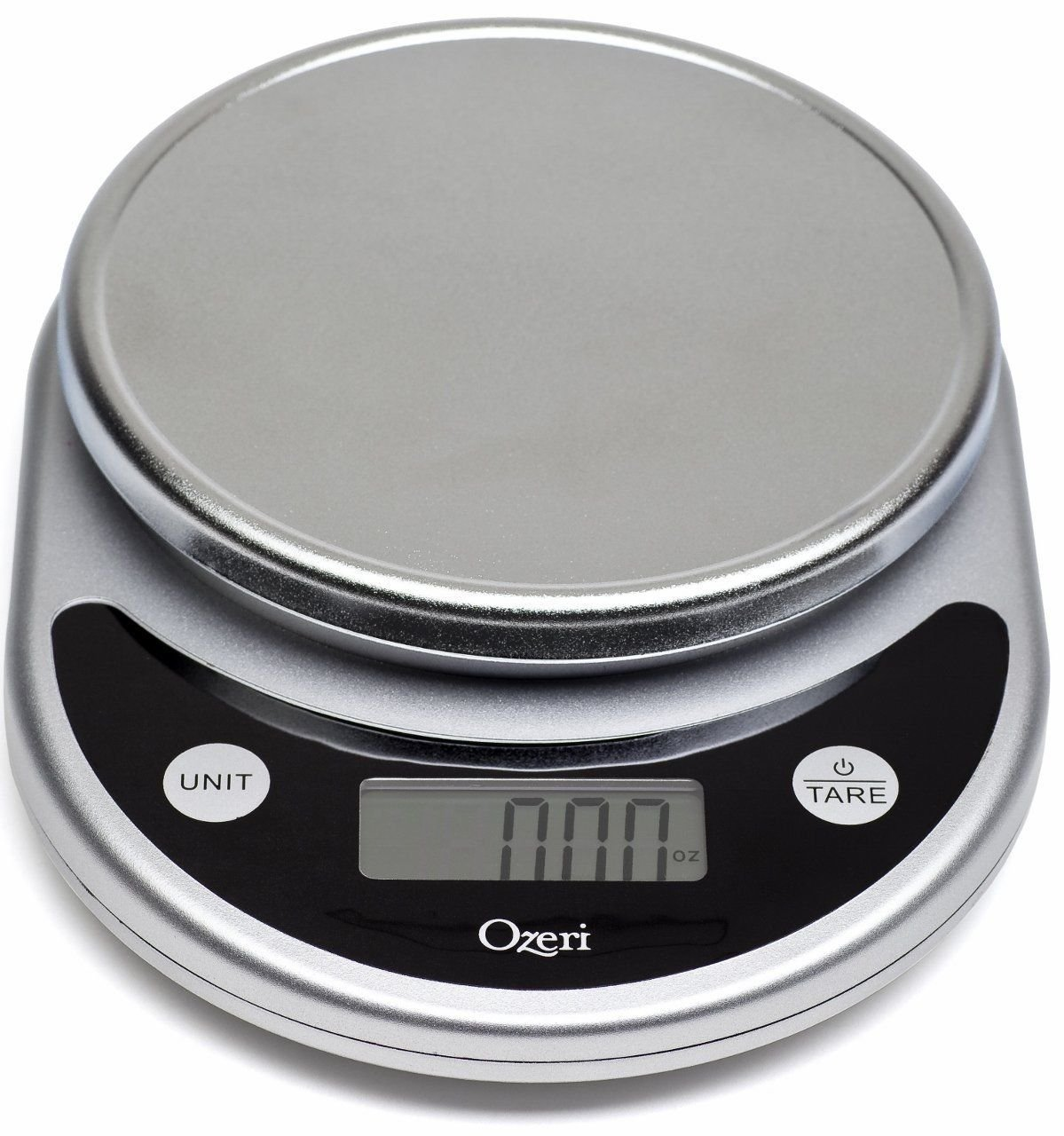 Ozeri ZK14-S Pronto Digital Multifunction Kitchen and Food Scale, Elegant Black by Ozeri