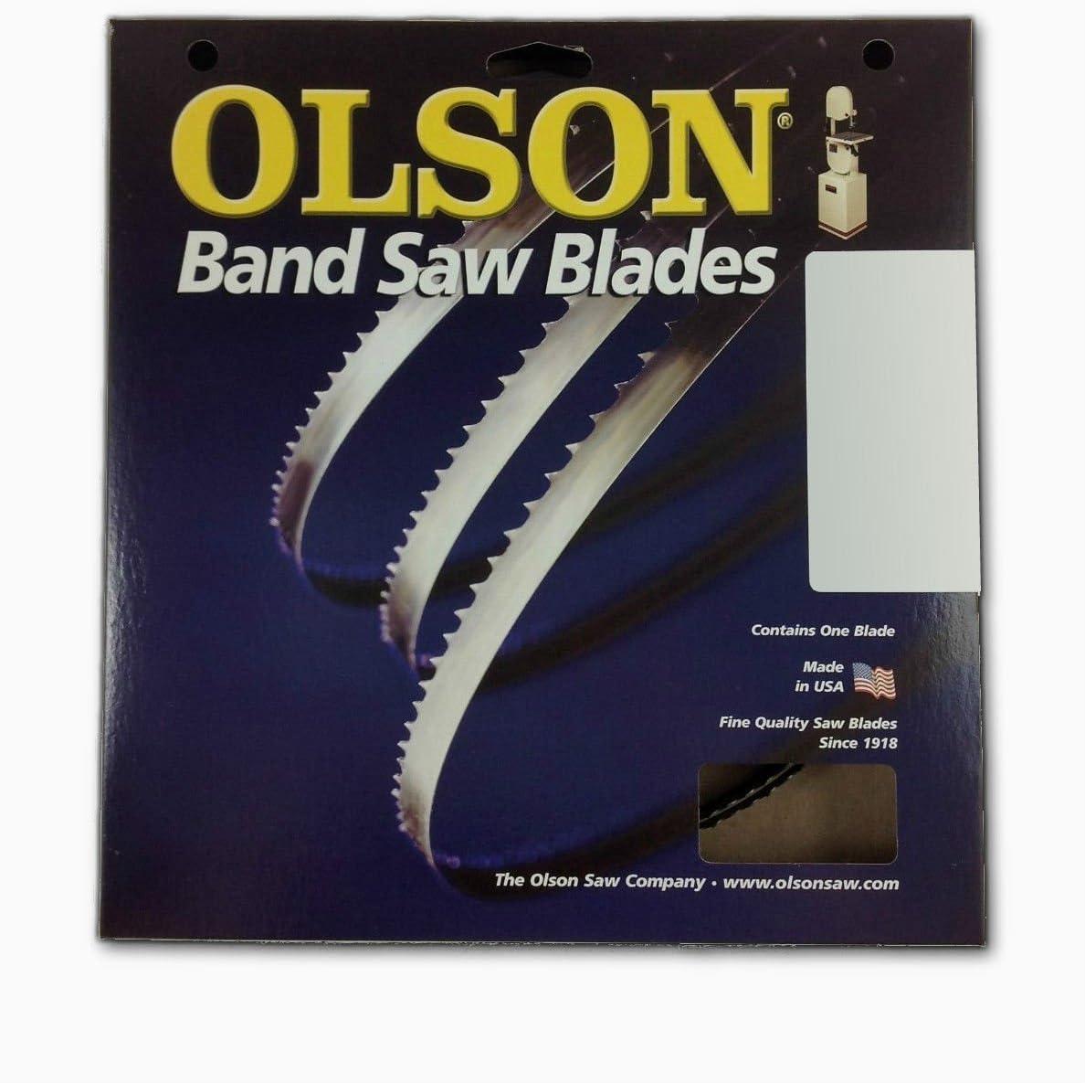 "Olson Band Saw Blade Hard Edge 93-1//2 /"" X 3//16 /"" 10 Tpi"
