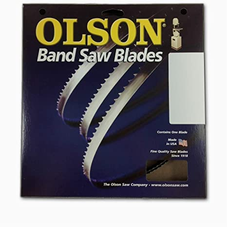 "Pack of 6 Bands Bandsaw Blades 93-1//2/"" x 1//2/"" x .025/"" x 6TPI"