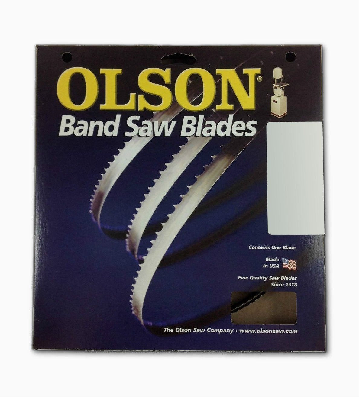 Olson 14593 Band Saw Blade 93-1/2'' Long X 1/4'' Wide .025'' Thick 6 Tpi