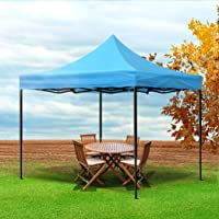 Mountview Gazebo Tent 3x3 Outdoor Marquee Gazebos Camping Canopy Wedding Blue Blue