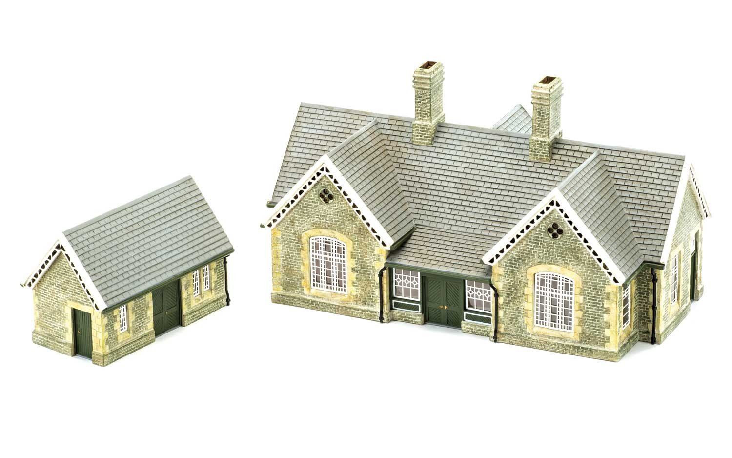 Hornby r9836 Granit Station Building Building Building Craft 01f3f1
