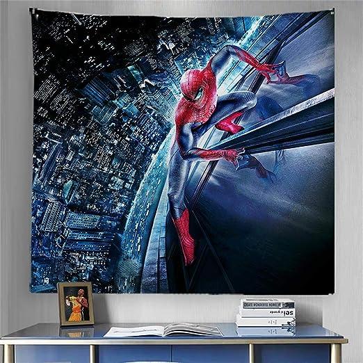 US Seller bedspread  wall art marvel comics spiderman art wall tapestry
