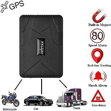 Coche GPS tracker-strong imán Big de 10000 mAh recargable vehículo ...
