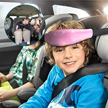 Car Seat Sleeping Head SupportSafety Stroller BeltJelanry Baby Safety