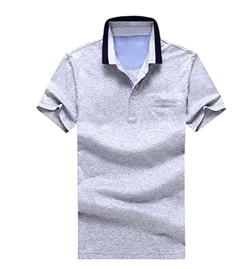 Coolred Mens Button Down Polo Pullover Short Sleeve Athletic T ...