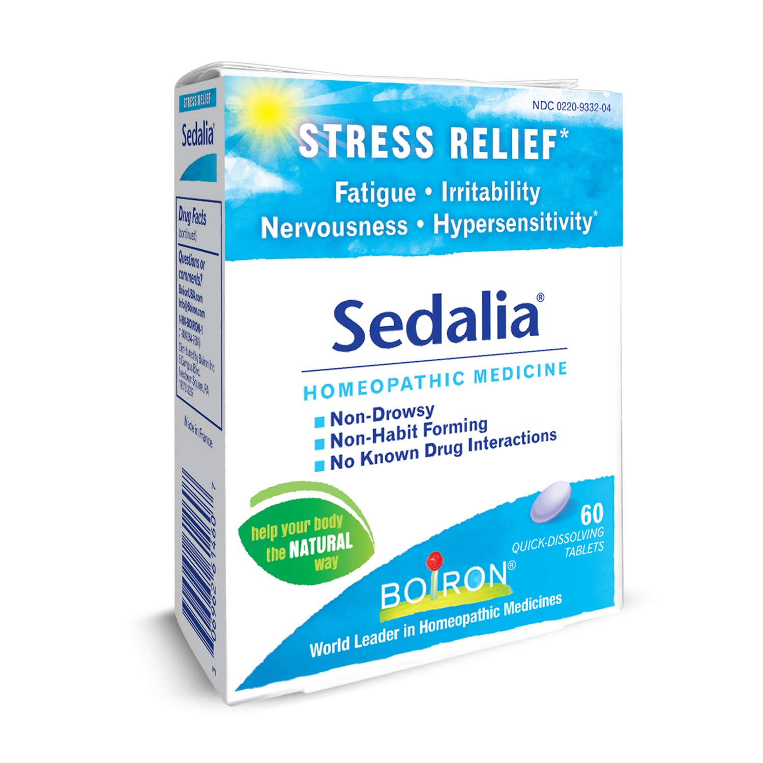 More Than 120 Homeopaths Trying To Cure >> Amazon Com Boiron Sedalia 60 Tablets Homeopathic Medicine For
