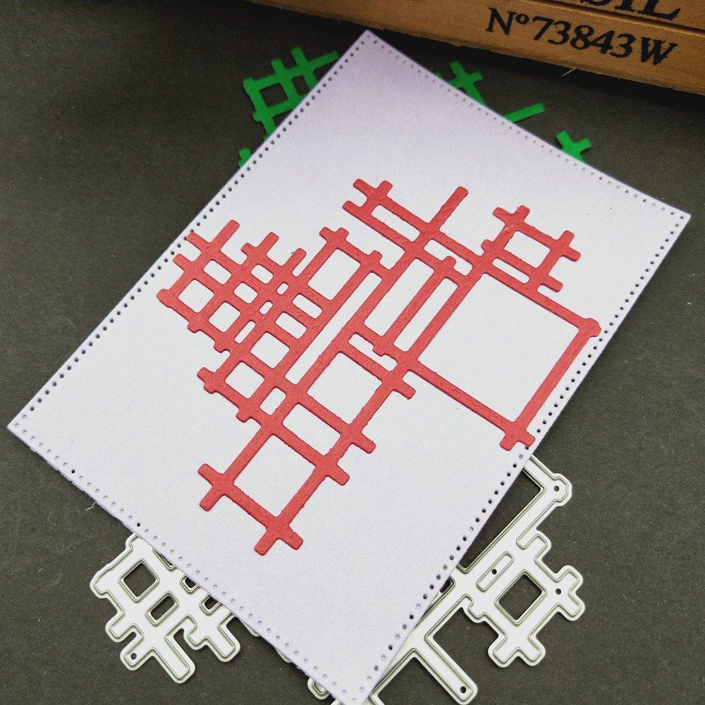 Newest Metal Cutting Dies LEEDY Fun Embossing Template Stencil for DIY Scrapbook Album Paper Card Craft Decoration
