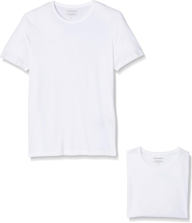 JACK & JONES Camiseta (Pack de 2 para Hombre