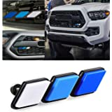 Mr Udinese Tri-Color Grille Badge Emblem Decoration Accessories Car Truck Label Compatible with Tacoma 4Runner Tundra Sequoia
