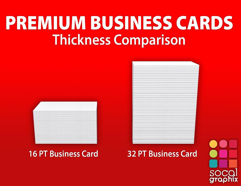 Amazon.com : 32 PT Ultra Thick Colored Edge Premium Quality Business ...