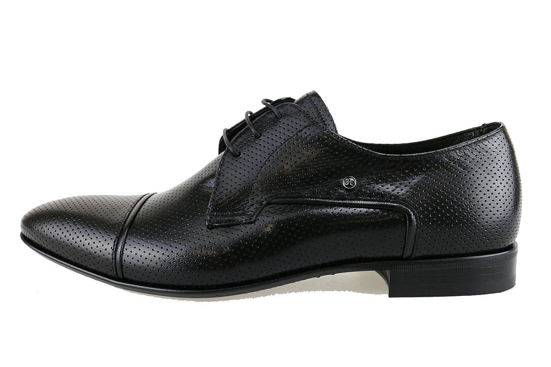 FABI Oxford-shoes / Elegant Man Black Leather AH854 (11 US / 44 EU)