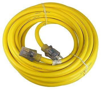 Prime Wire & Cable LT511930 50-Foot 10/3 SJTOW Bulldog Tough Ultra ...