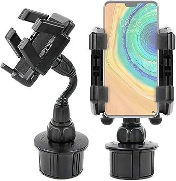 DURAGADGET Soporte para Coche Compatible con Smartphone Huawei Mate 20 X (5G), Huawei Mate 30 Pro 5G, OPPO A5 (2020), Xiaomi Mi 9 Pro 5G: Amazon.es: Electrónica