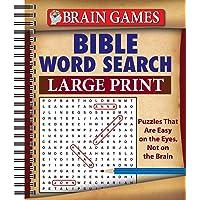 Brain Games - Bible Word Search (Large Print)