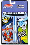 Melissa & Doug On the Go Surprize Ink! Activity Book - Vehicles (24 Pages)
