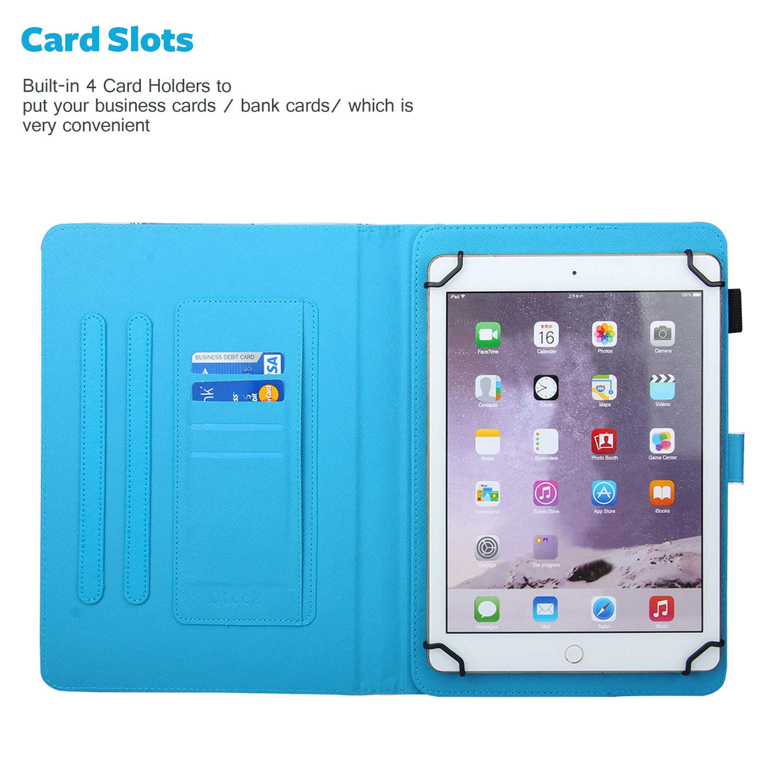 10,5 Pulgadas Apple iPad Dteck Kindle - Funda Universal para Tablet Samsung Galaxy Tablet Google Nexus y m/ás de 6,5 TM
