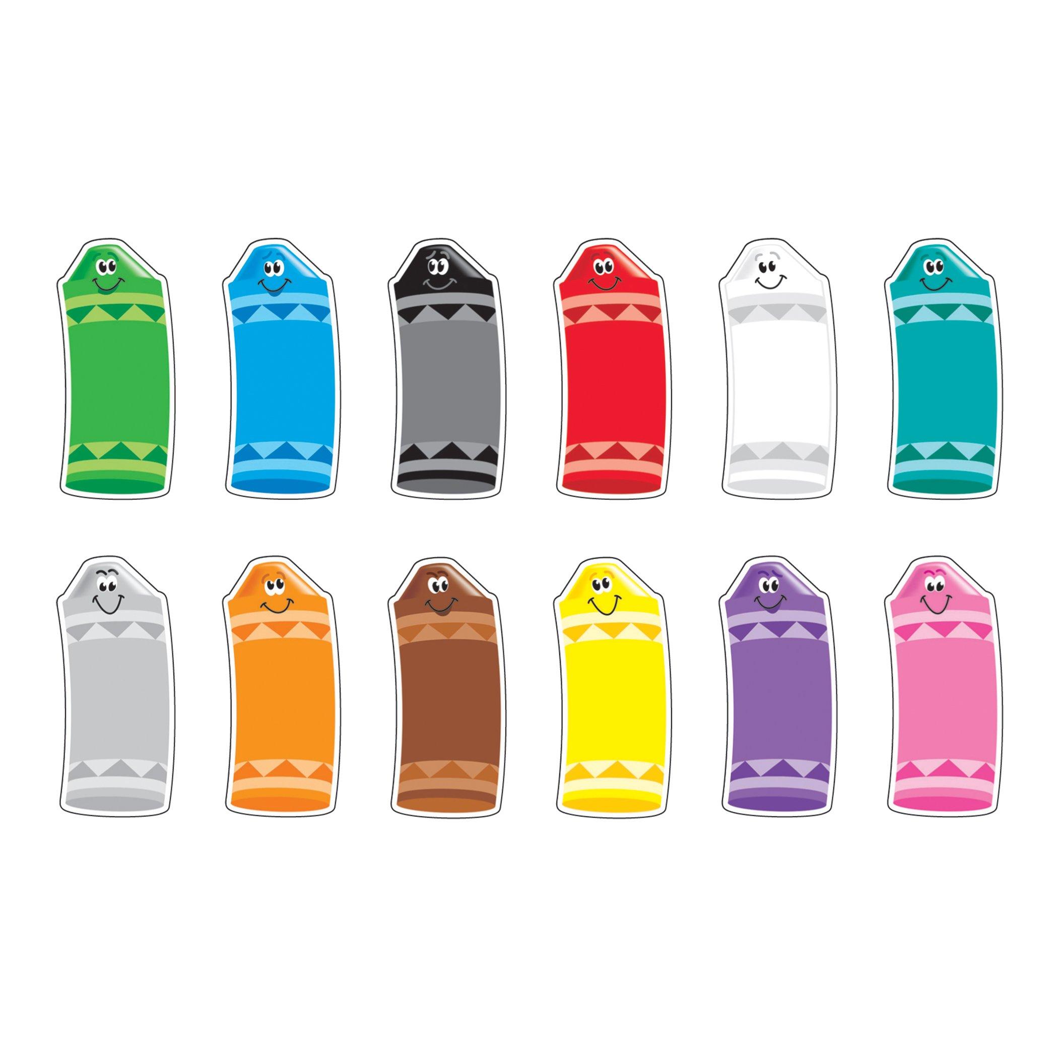 TREND enterprises, Inc. Crayon Colors Classic Accents Variety Pack, 72 ct by Trend Enterprises Inc