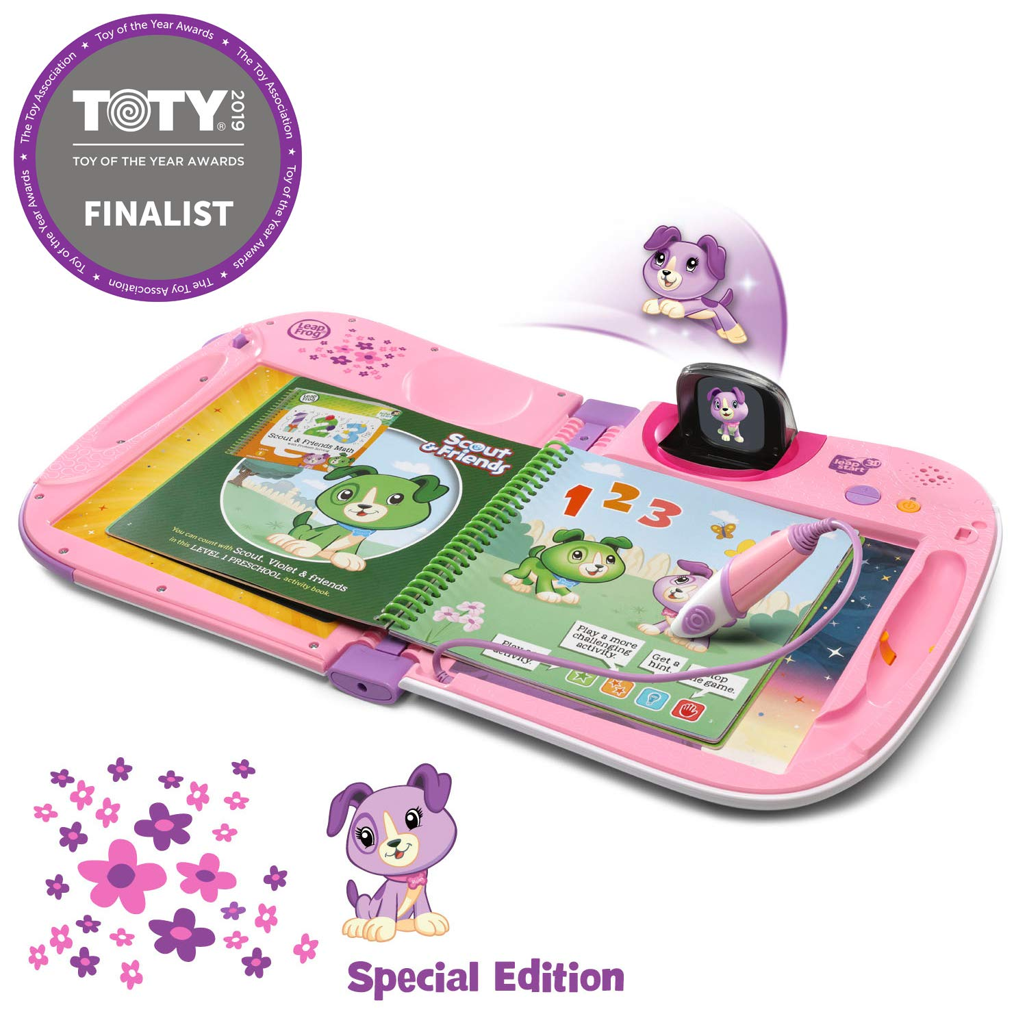 LeapFrog LeapStart 3D Interactive Learning System Amazon Exclusive, Violet by LeapFrog