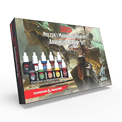 The Army Painter Dungeons and Dragons Official Paint Line Adventurer's Paint Set: Toys & Games