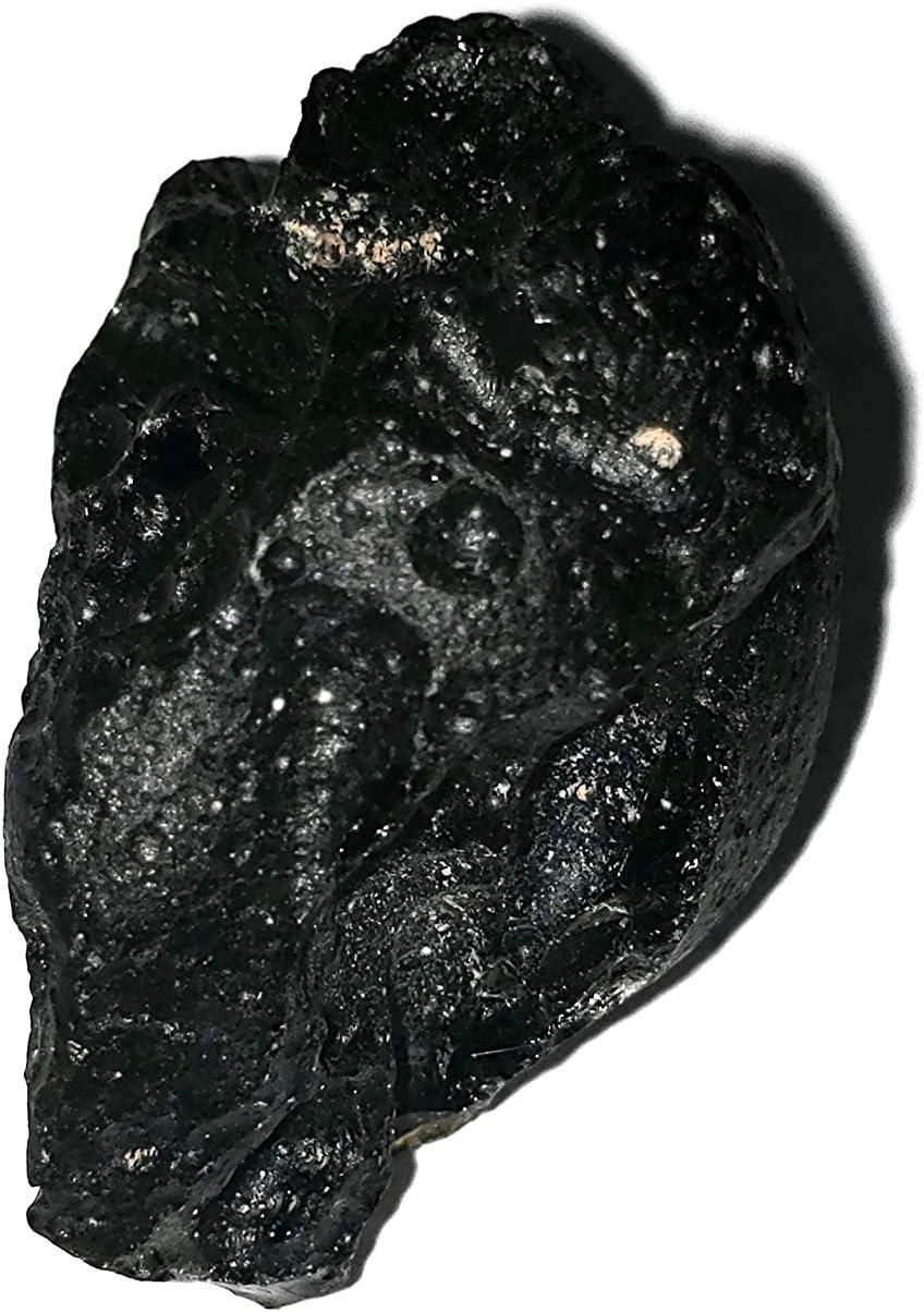 1pc Tibetan Tektite Very Rare Meteorite Material Large Raw//Rough Natural Crystal Gemstone Specimen from Tibet
