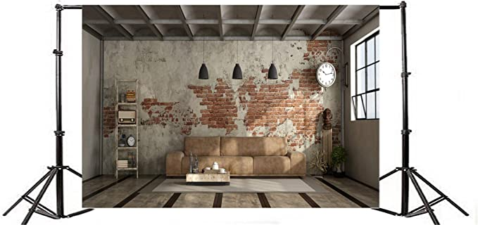 Vinyl 10x10ft Grunge Retro New Year 2019 Photography Background Grunge Old Moldy Dirty Wooden Wall Clock Dial Countdown Shabby Wood Texture Floor Backdrops Artistic Photo Studio Props