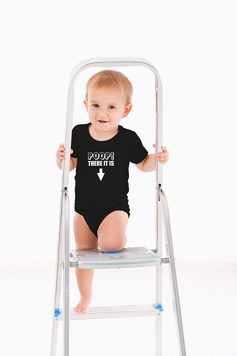 Funny Cute One-Piece Infant Baby Bodysuit Parody Song There It is AW Fashions Poop