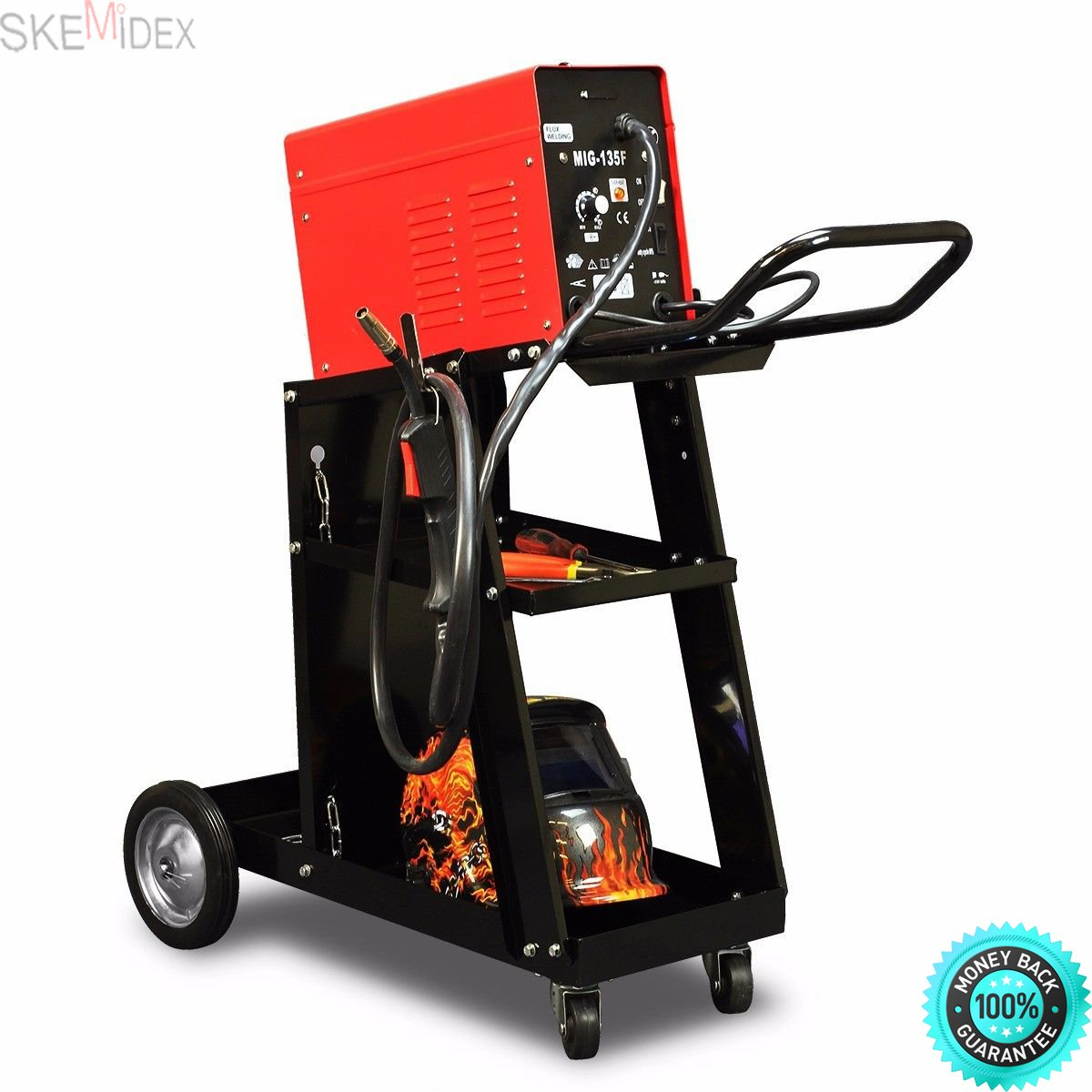 SKEMIDEX---MIG TIG ARC Welder Welding Cart Universal Storage for Tanks & Accessories Wheels And miller welding carts harbor freight welding carts welding cart with drawers lincoln welding cart heavy