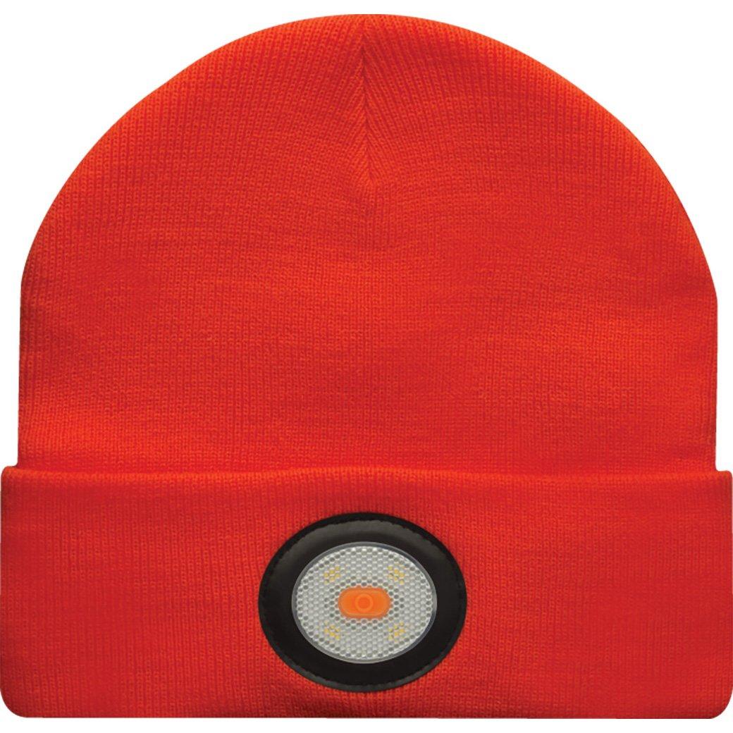 ba7e8868a Unilite BE-02+O USB Rechargeable Beanie Headlight, Orange: Amazon ...
