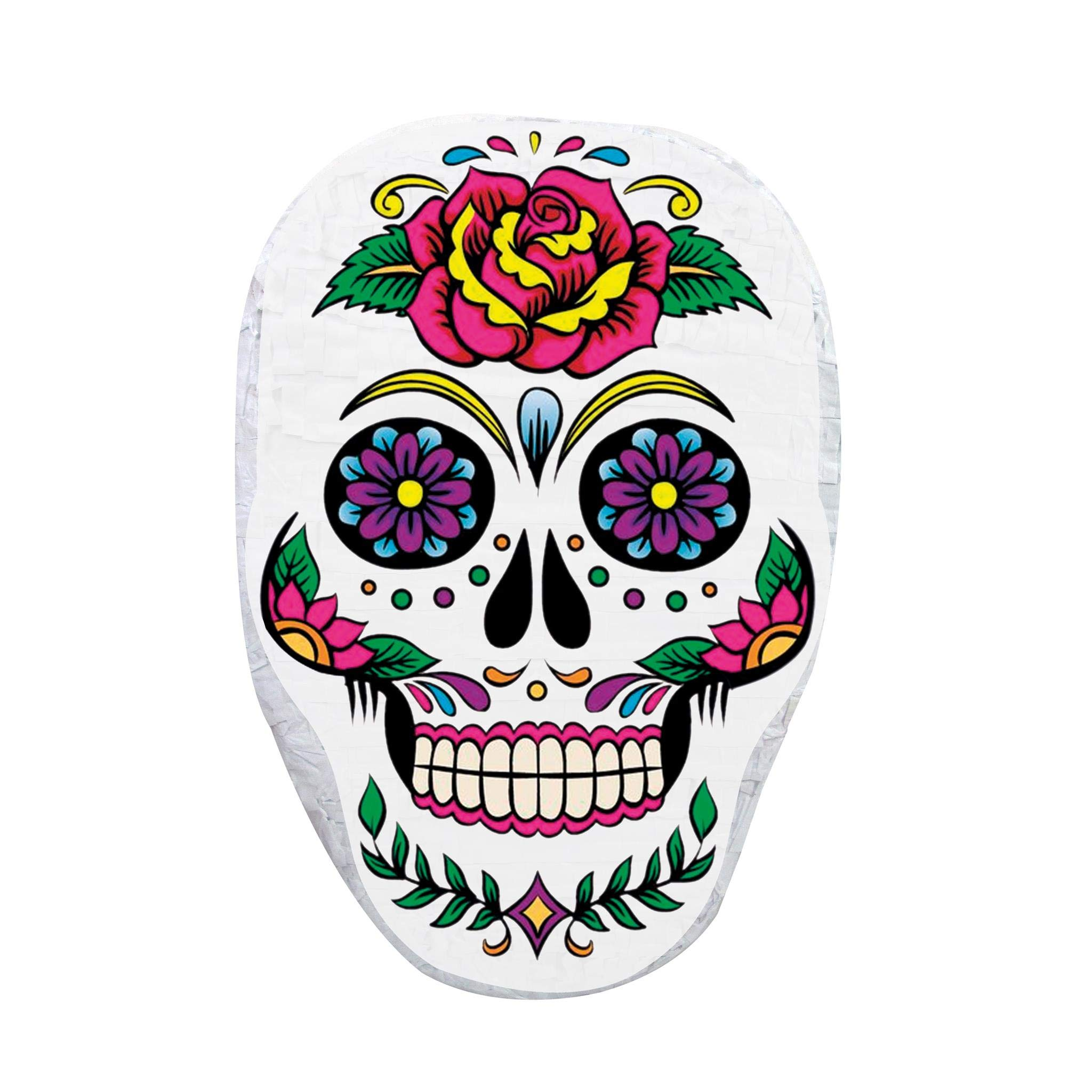 Pinatas Day of the Dead Sugar Skull Halloween Pinata, Decoration, Party Game and Photo Prop by Pinatas