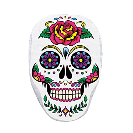 Amazon Pinatas Flower Skull Halloween Day Of The Dead Front