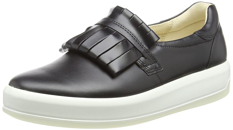 Ecco Soft 9, Zapatillas para Mujer 37 EU|Negro (Black 01001)