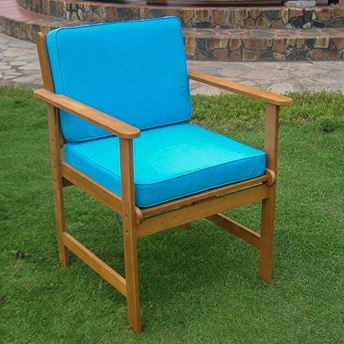 International Caravan Furniture Piece Set of Two Royal Tahiti Gulf Port Arm Chair